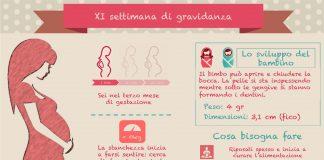 Undicesima settimana di gravidanza