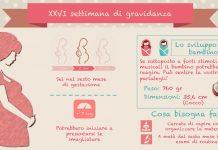 ventiseiesima 26 settimana di gravidanza