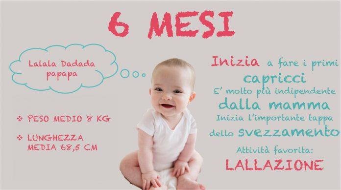 Svezzamento neonato 6 mesi