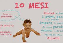Neonato 10 mesi sviluppo