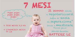 Alimentazione Neonato 7 mesi