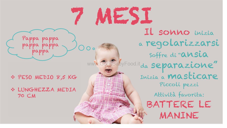 Quando Inizia A Gattonare Neonato neonato 7 mesi: peso, alimentazione, sviluppo e progressi
