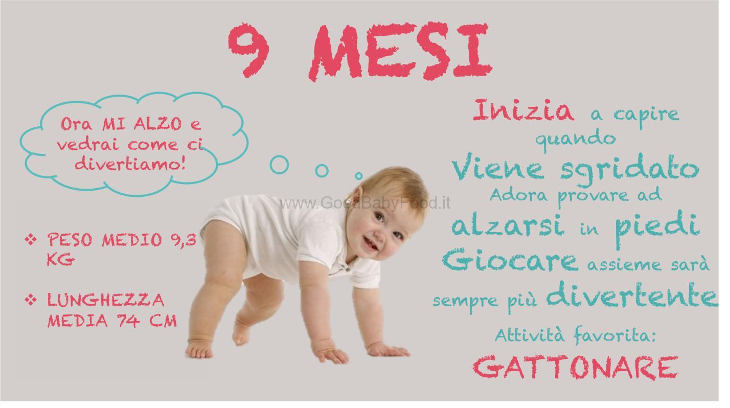 Quando Inizia A Gattonare Neonato neonato 9 mesi: alimentazione, giochi e prime parole del bambino