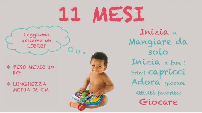 Neonato 11 mesi sviluppo