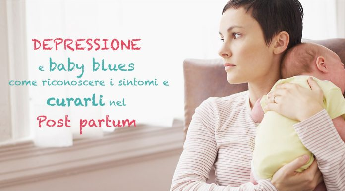 depressione post part baby blues