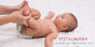 stitichezza neonato rimedi