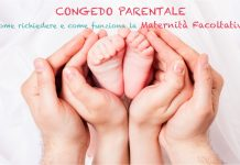 Congedo parentale maternità facoltativa