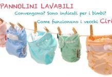 Pannolini lavabili ecologici