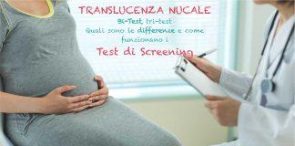 test translucenza nucale