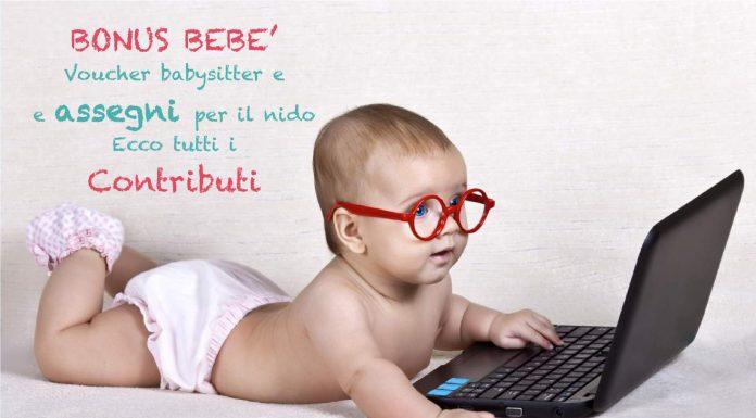 Bonus bebé voucher babysitter