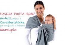Fascia porta bebe marsupio neonato